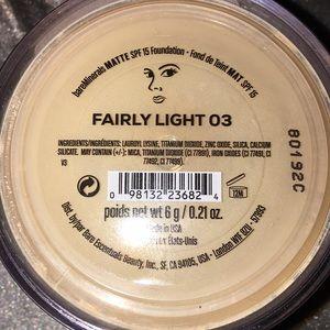 BareMinerals foundation Matte Fairly Light 03, 6g